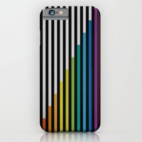 iPhone & iPod Case featuring Stripes & Dots by HK Chik