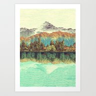 The Unknown Hills In Kam… Art Print