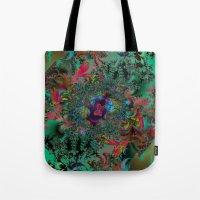 Butterfly Dreams Fractal art Tote Bag
