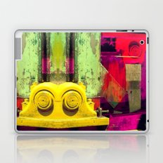 Industrial Abstract Twins Laptop & iPad Skin