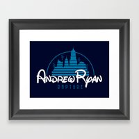 Andrew Ryan - Rapture Framed Art Print