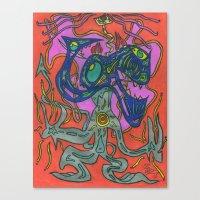 The Mastermind Canvas Print