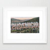Phoenicia, NY Framed Art Print