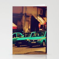 Moroccan Taxi Stationery Cards
