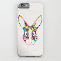 Rainbow Rabbit iPhone 6 Slim Case