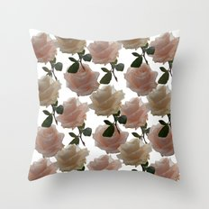 Covering you with roses Throw Pillow