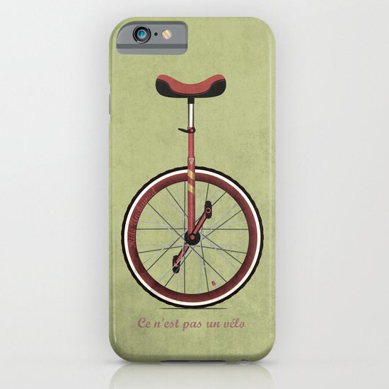 Unicycle iPhone & iPod Case