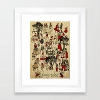 Fairy Tales Poster Print Framed Art Print