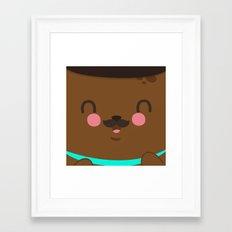 Bear Dad Framed Art Print