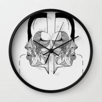 'Face Study I' Wall Clock