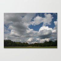 usual sky Canvas Print