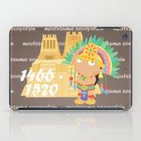 Moctezuma Xocoyotzin iPad Case