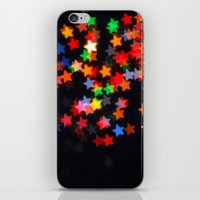 Rainbow Stars iPhone & iPod Skin