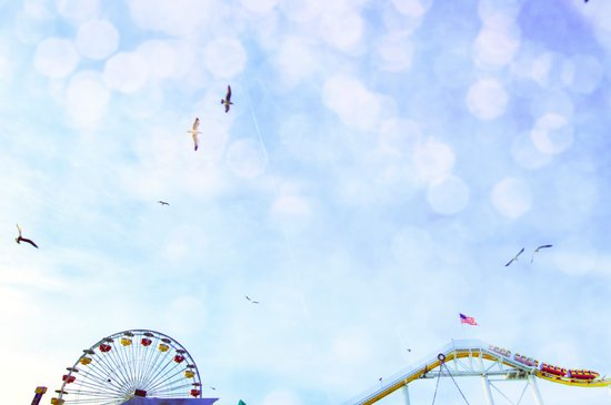 Carnival In The Sky  Art Print