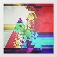 Triangle Lover Canvas Print
