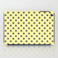 yellow flower iPad Case