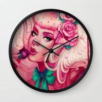 Sweet Release Wall Clock