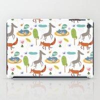 Happy animals iPad Case