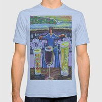 Man vs. Vice Mens Fitted Tee Athletic Blue SMALL