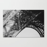 Eiffel Tower Close-up Canvas Print