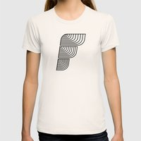 F like F Womens Fitted Tee Natural SMALL