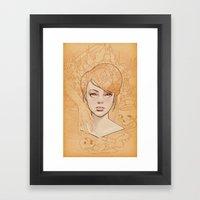 Mahakala II Framed Art Print