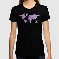 Prince Womens Fitted Tee Black SMALL
