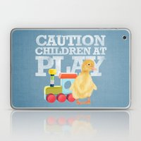A Duckling With A Wood C… Laptop & iPad Skin