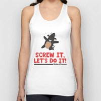 Screw it, Let's do it! Unisex Tank Top
