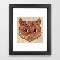 Owlustrations 2 Framed Art Print