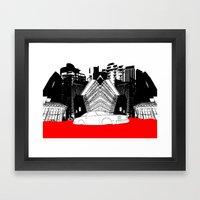 Demolition Derby 1984 Framed Art Print
