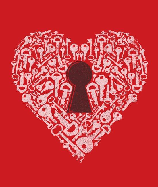 The Key To My Heart Art Print