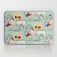 Whitney Farms Rooster Laptop & iPad Skin
