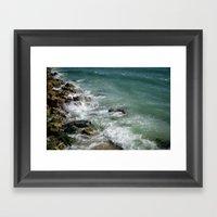 The Gulf Framed Art Print