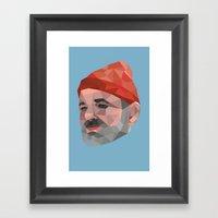 Steve Zissou / Bill Murr… Framed Art Print