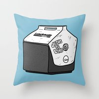 Uncle Jimmy's Lunchbox Throw Pillow