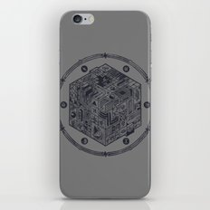 The Folly of Time and Space, Explained iPhone & iPod Skin