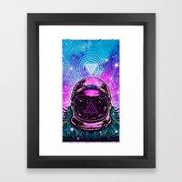 AstroNort Framed Art Print