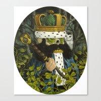 Forest Guardians Canvas Print