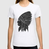 Chief / Black Edition Womens Fitted Tee Ash Grey SMALL