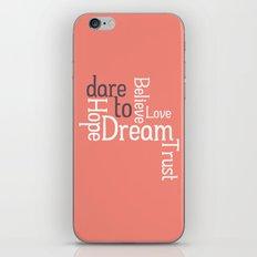 Dare to Love -- Alternate Version iPhone & iPod Skin