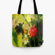 Abstract Berry Tote Bag