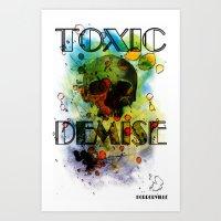 Toxic Demise Art Print