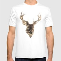 Cervus (Classic Version) Mens Fitted Tee White SMALL