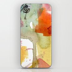 watercolour floral abstract iPhone & iPod Skin