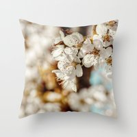 Spring Now Throw Pillow