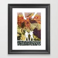 There Goes The Neighborhood Framed Art Print