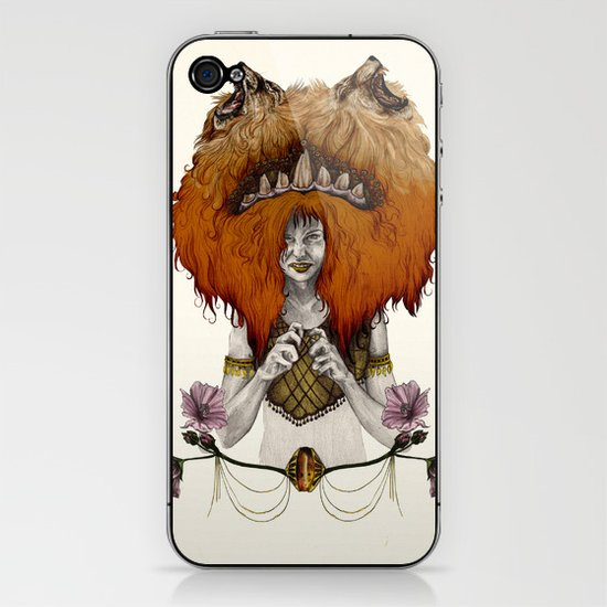 L  E  O [in colour] iPhone & iPod Skin