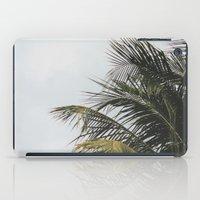palm treee iPad Case