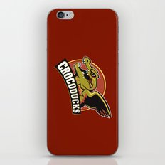 Crocoducks iPhone & iPod Skin